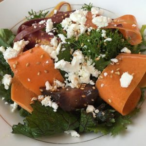 Carrot Salad at Coquine in Portland, OR