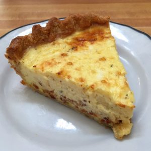 Quiche Lorraine from Suzette Creperie