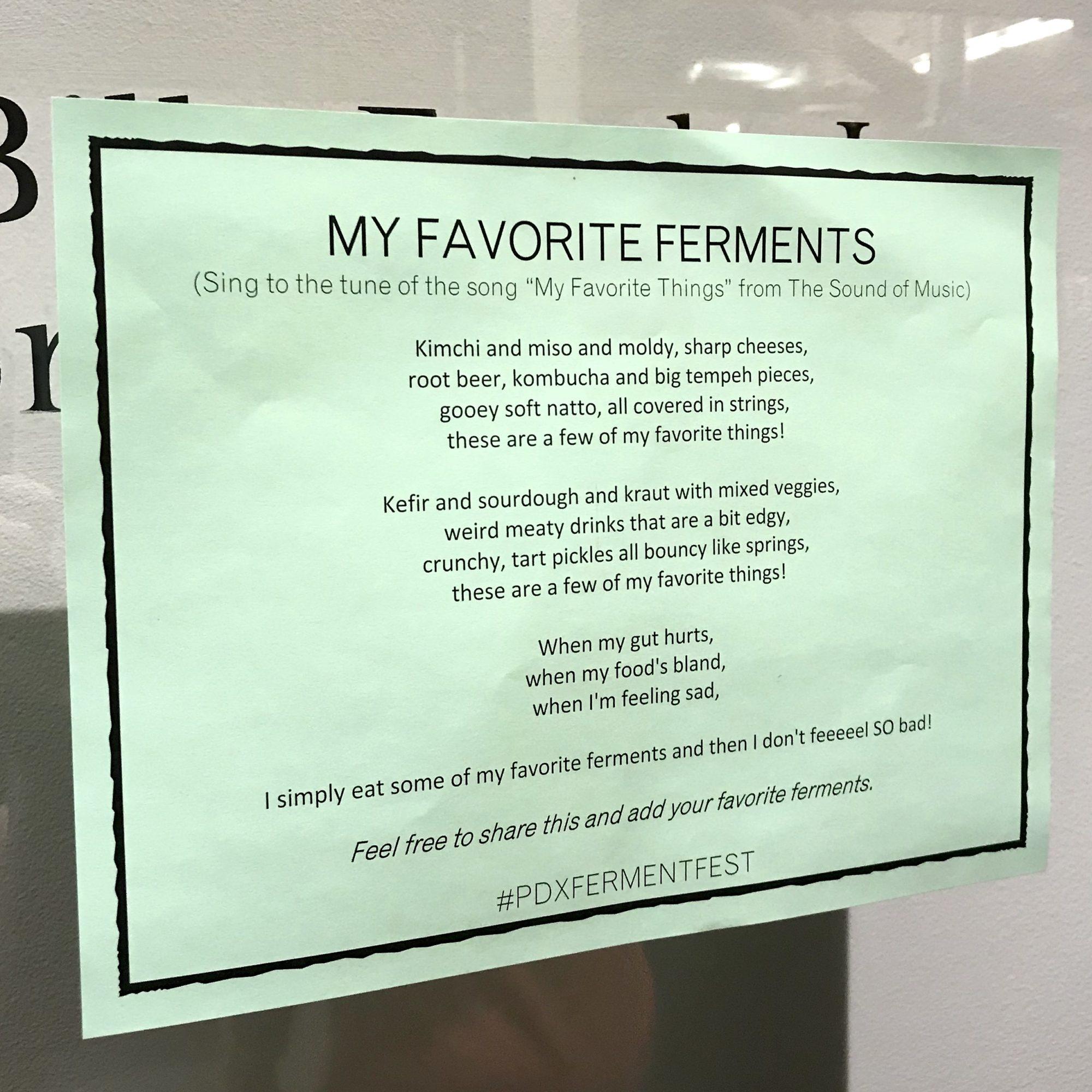 my-favorite-ferments-lyrics-portland-fermentation-festival-2019-oregon