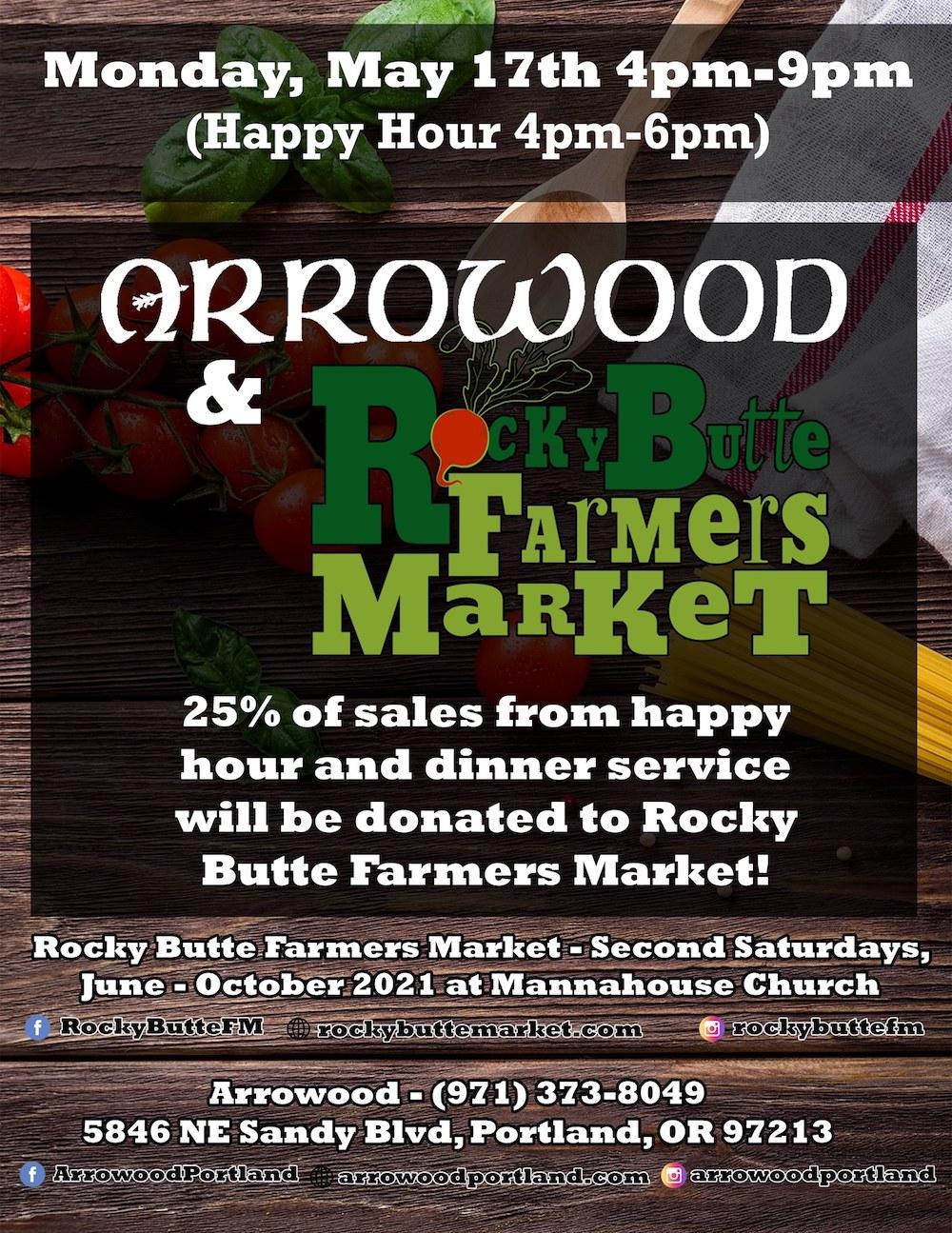 arrowood-portland-rocky-butte-farmers-market-fundraiser